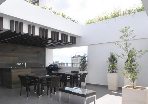 Apartamento Santo Domingo>Distrito Nacional>Naco - Alquiler:1.300 Dolares - codigo: 19-962