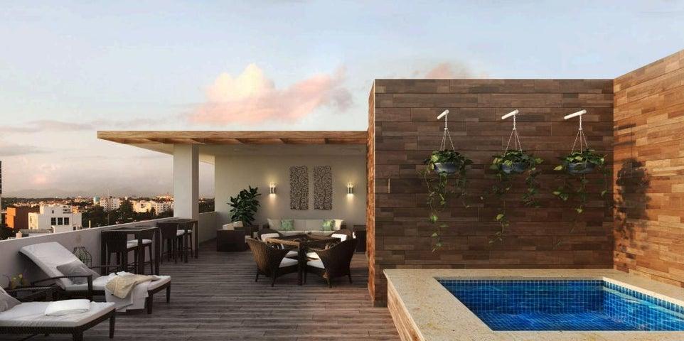 Apartamento Santo Domingo>Distrito Nacional>Bella Vista - Venta:99.000 Dolares - codigo: 19-1052