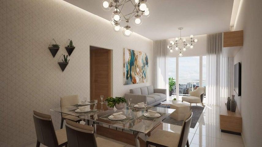 Apartamento Santo Domingo>Distrito Nacional>Bella Vista - Venta:158.485 Dolares - codigo: 19-1053