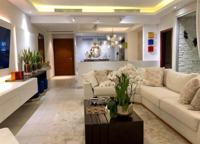 Apartamento Santo Domingo>Distrito Nacional>Serralles - Alquiler:3.700 Dolares - codigo: 19-1109