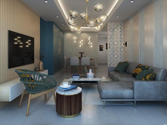 Apartamento Santo Domingo>Distrito Nacional>Evaristo Morales - Venta:122.000 Dolares - codigo: 20-150