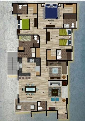 Apartamento Santo Domingo>Distrito Nacional>Serralles - Venta:104.700 Dolares - codigo: 20-315