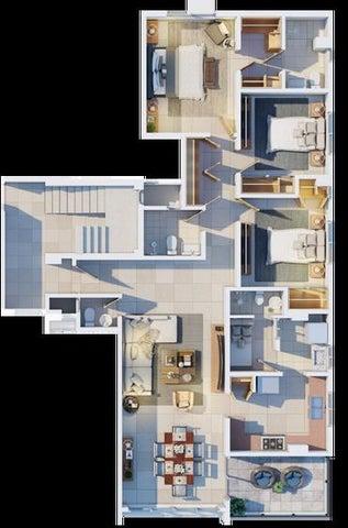 Apartamento Santo Domingo>Distrito Nacional>Jardines del Sur - Venta:133.700 Dolares - codigo: 20-397