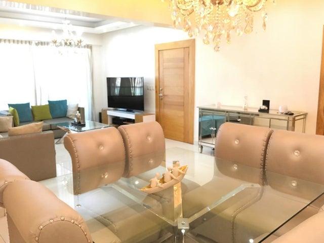 Apartamento Santo Domingo>Distrito Nacional>Piantini - Alquiler:2.400 Dolares - codigo: 20-517
