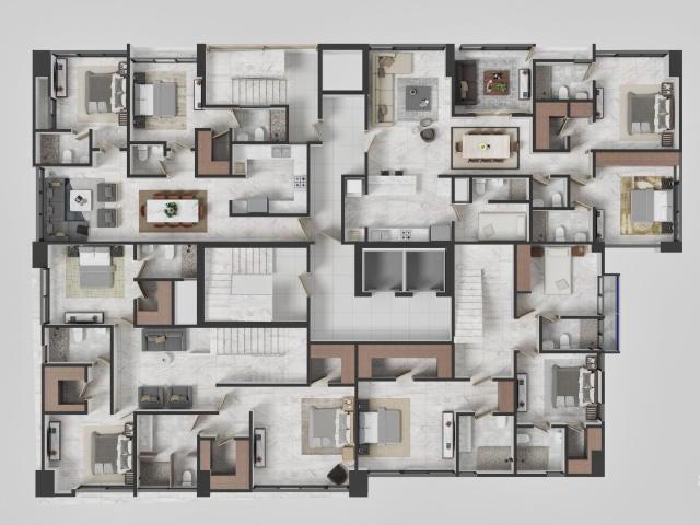 Apartamento Santo Domingo>Distrito Nacional>La Esperilla - Venta:144.925 Dolares - codigo: 20-941