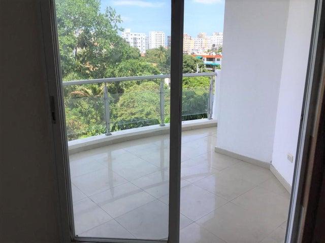 Apartamento Santo Domingo>Distrito Nacional>Bella Vista - Alquiler:35.000 Pesos - codigo: 20-1093