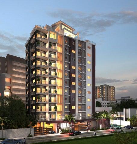 Apartamento Santo Domingo>Distrito Nacional>Evaristo Morales - Venta:109.000 Dolares - codigo: 20-1268