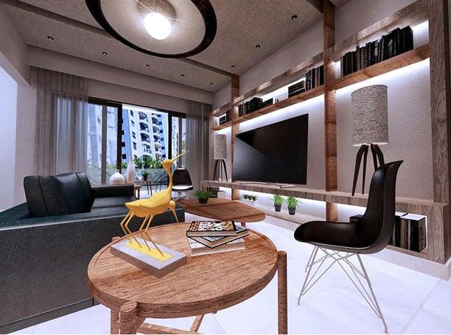 Apartamento Santo Domingo>Distrito Nacional>Evaristo Morales - Venta:134.000 Dolares - codigo: 20-1291