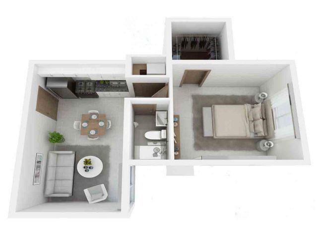 Apartamento La Altagracia>Punta Cana>Bavaro - Venta:57.900 Dolares - codigo: 20-1492