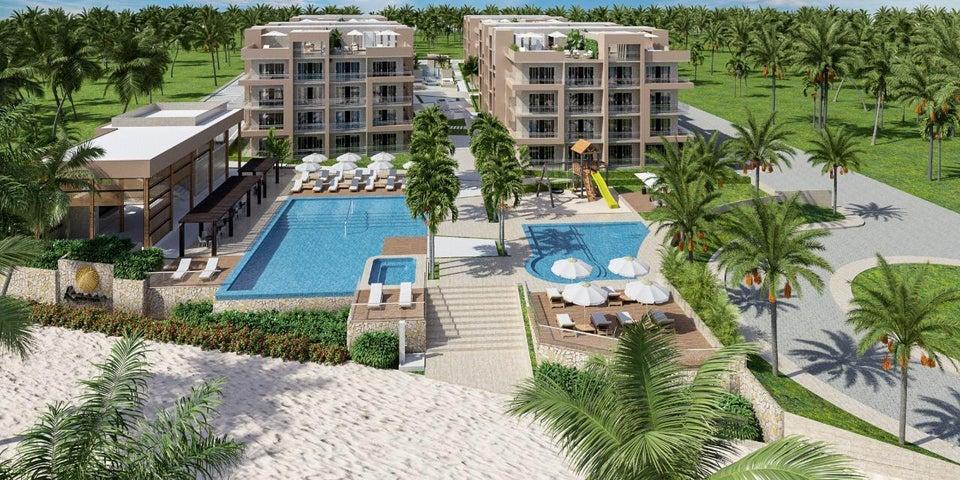 Apartamento San Pedro de Macoris>Playa Nueva Romana>Playa Nueva Romana - Venta:170.362 Dolares - codigo: 20-1572