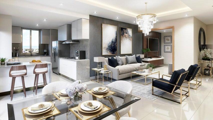 Apartamento Santo Domingo>Distrito Nacional>La Julia - Venta:129.500 Dolares - codigo: 20-1614