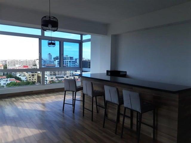 Apartamento Santo Domingo>Distrito Nacional>Bella Vista - Alquiler:900 Dolares - codigo: 20-1588