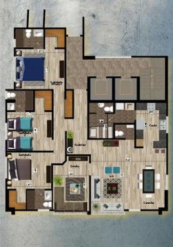 Apartamento Santo Domingo>Distrito Nacional>Serralles - Venta:228.000 Dolares - codigo: 21-1