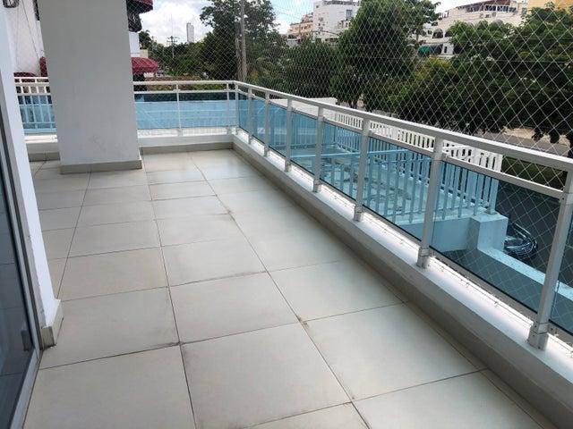 Apartamento Santo Domingo>Distrito Nacional>Los Cacicazgos - Alquiler:1.500 Dolares - codigo: 21-5
