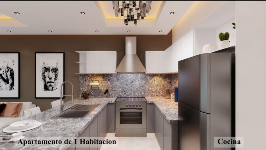 Apartamento Santo Domingo>Distrito Nacional>Evaristo Morales - Venta:112.822 Dolares - codigo: 21-25