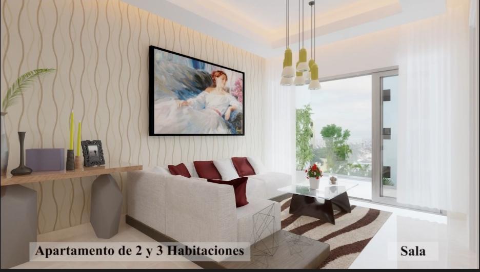 Apartamento Santo Domingo>Distrito Nacional>Evaristo Morales - Venta:235.000 Dolares - codigo: 21-29