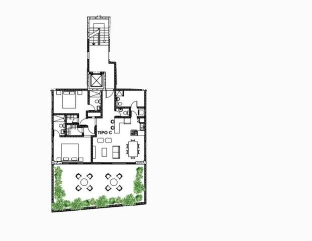 Apartamento Santo Domingo>Distrito Nacional>El Millon - Venta:154.125 Dolares - codigo: 21-165