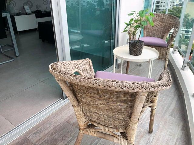Apartamento Santo Domingo>Distrito Nacional>Piantini - Alquiler:1.300 Dolares - codigo: 21-223