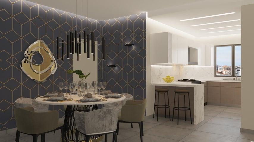 Apartamento Santo Domingo>Distrito Nacional>Evaristo Morales - Venta:334.800 Dolares - codigo: 21-449