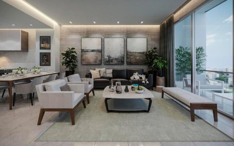 Apartamento Santo Domingo>Distrito Nacional>Paraiso - Venta:354.372 Dolares - codigo: 21-453