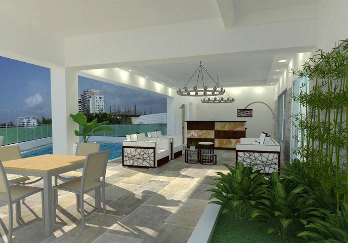 Apartamento Santo Domingo>Distrito Nacional>Los Cacicazgos - Venta:245.000 Dolares - codigo: 21-481
