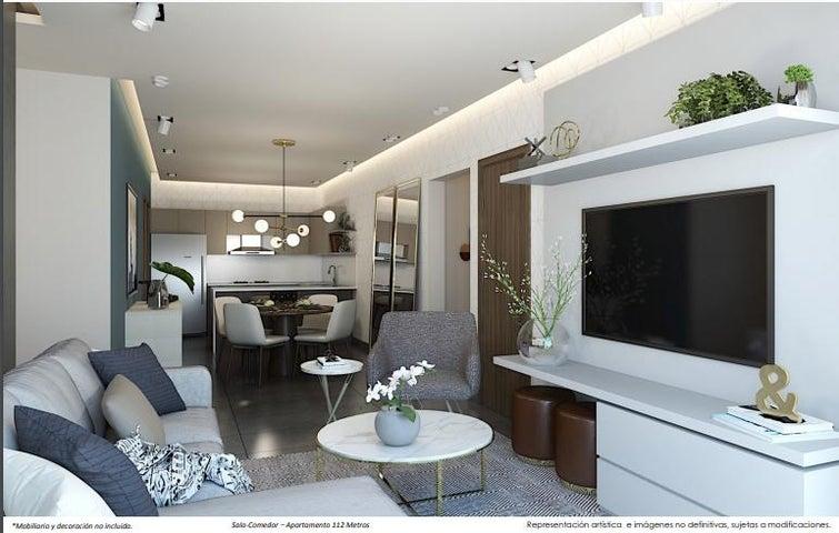 Apartamento Santo Domingo>Distrito Nacional>La Julia - Venta:169.801 Dolares - codigo: 21-590