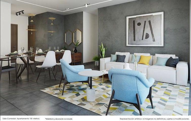 Apartamento Santo Domingo>Distrito Nacional>La Julia - Venta:294.484 Dolares - codigo: 21-610