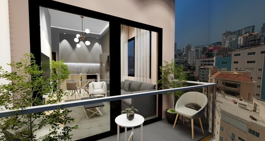 Apartamento Santo Domingo>Distrito Nacional>Serralles - Venta:119.500 Dolares - codigo: 21-822