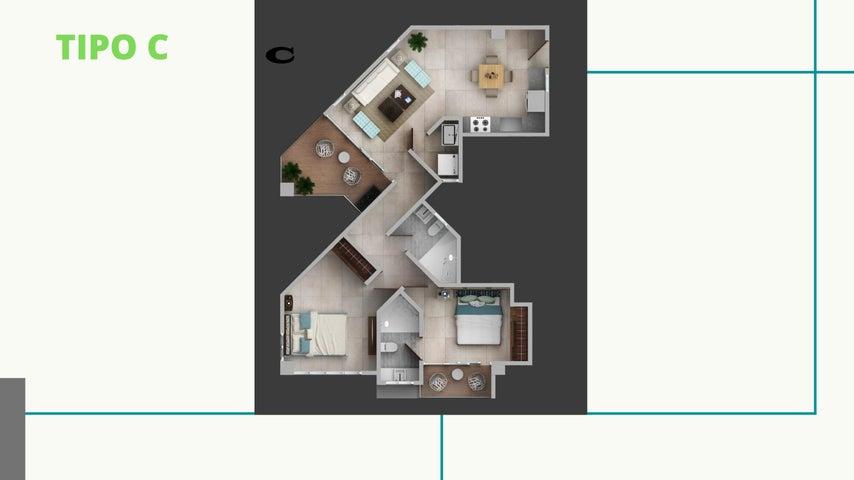 Apartamento San Pedro de Macoris>Juan Dolio>Juan Dolio - Venta:138.974 Dolares - codigo: 21-985
