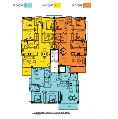 Apartamento Santo Domingo>Distrito Nacional>Urbanizacion Fernandez - Venta:146.000 Dolares - codigo: 21-997