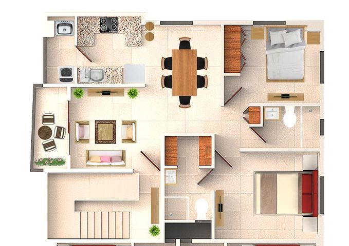 Apartamento Santo Domingo>Distrito Nacional>Miramar - Venta:80.000 Dolares - codigo: 21-1031