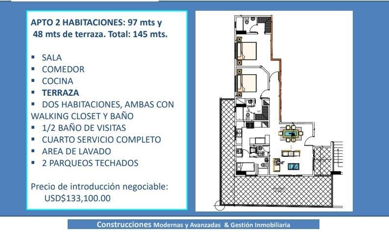 Apartamento Santo Domingo>Distrito Nacional>Atala - Venta:66.000 Dolares - codigo: 21-1052