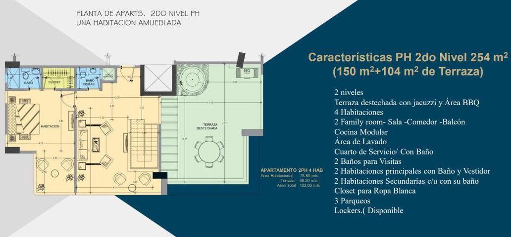 Apartamento Santo Domingo>Distrito Nacional>Evaristo Morales - Venta:415.000 Dolares - codigo: 21-1168