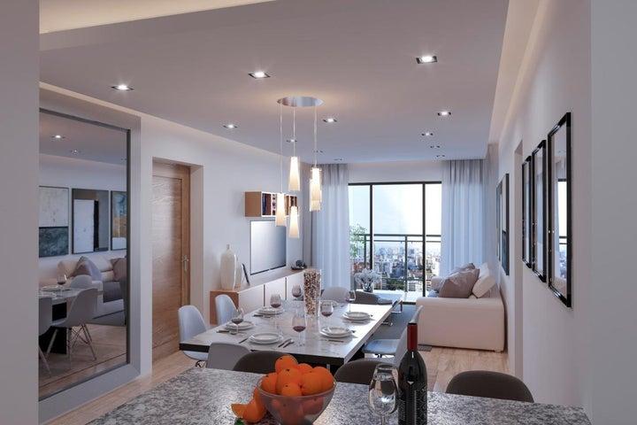 Apartamento Santo Domingo>Distrito Nacional>Bella Vista - Venta:111.500 Dolares - codigo: 21-1186