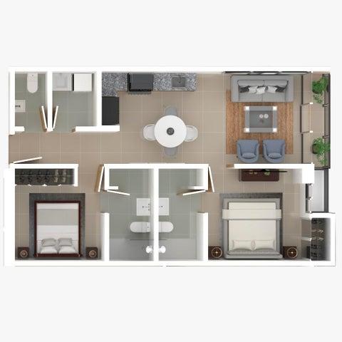 Apartamento Santo Domingo>Distrito Nacional>Bella Vista - Venta:145.000 Dolares - codigo: 21-1188