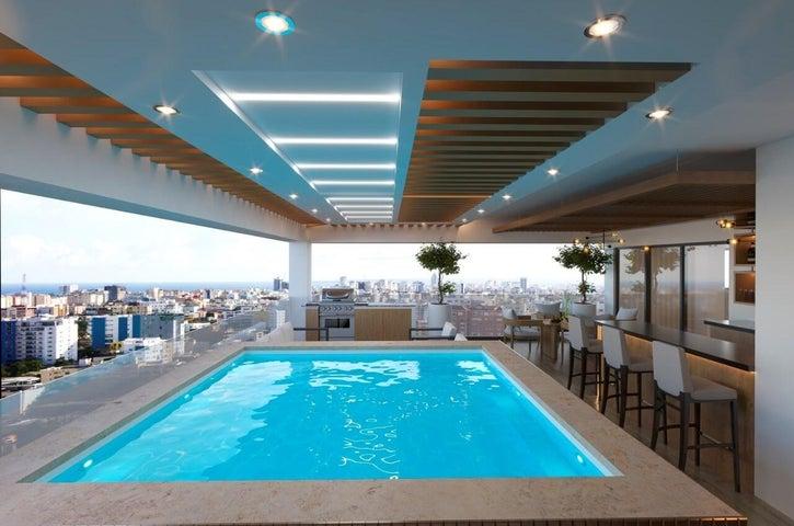 Apartamento Santo Domingo>Distrito Nacional>Bella Vista - Venta:261.000 Dolares - codigo: 21-1191