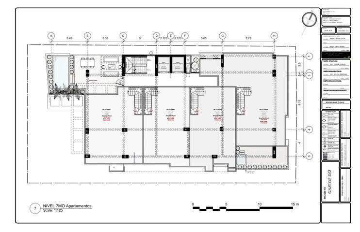 Apartamento Santo Domingo>Distrito Nacional>Gazcue - Venta:119.294 Dolares - codigo: 21-1207
