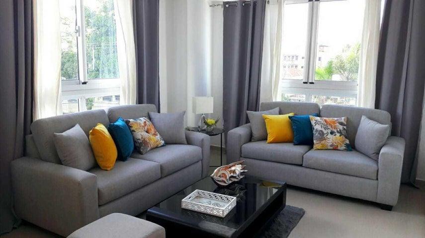 Apartamento Santo Domingo>Distrito Nacional>Piantini - Alquiler:950 Dolares - codigo: 21-1269