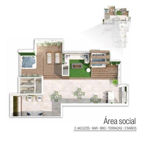 Apartamento Santo Domingo>Distrito Nacional>Los Rios - Venta:179.000 Dolares - codigo: 21-1303