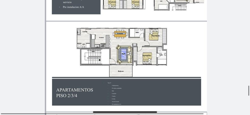 Apartamento Santo Domingo>Santo domingo Este>Alma Rosa I - Venta:118.085 Dolares - codigo: 21-1331