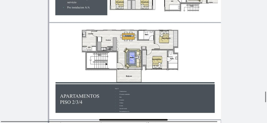 Apartamento Santo Domingo>Santo domingo Este>Alma Rosa I - Venta:99.275 Dolares - codigo: 21-1329