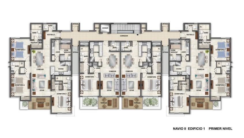 Apartamento La Altagracia>Punta Cana>Bavaro - Venta:293.775 Dolares - codigo: 21-1439