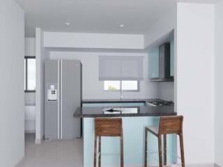 Apartamento Santo Domingo>Santo Domingo Oeste>Zona Industrial de Herrera - Venta:3.500.000 Pesos - codigo: 21-1441