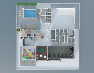 Apartamento Santo Domingo>Distrito Nacional>Serralles - Venta:235.000 Dolares - codigo: 21-1426