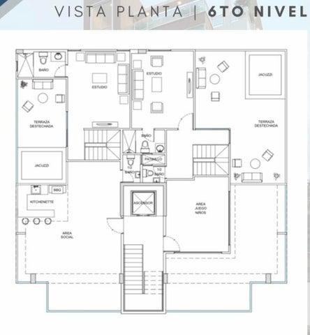 Apartamento Santo Domingo>Distrito Nacional>El Millon - Venta:210.000 Dolares - codigo: 21-1296