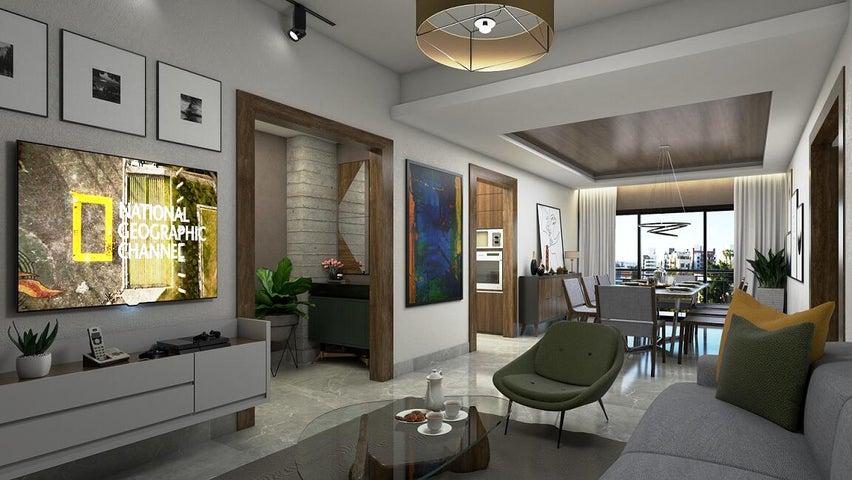 Apartamento Santo Domingo>Distrito Nacional>Urbanizacion Fernandez - Venta:239.400 Dolares - codigo: 21-1555