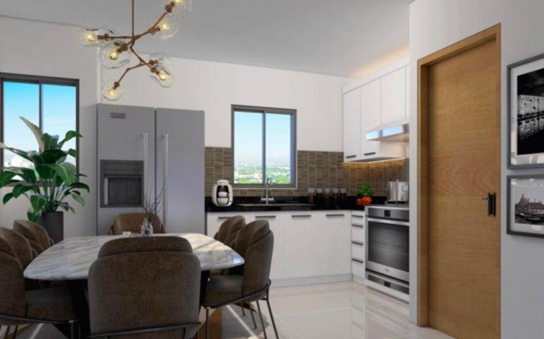 Apartamento Santiago de los Caballeros>Santiago>Santiago de los Caballeros - Venta:54.000 Dolares - codigo: 21-1575