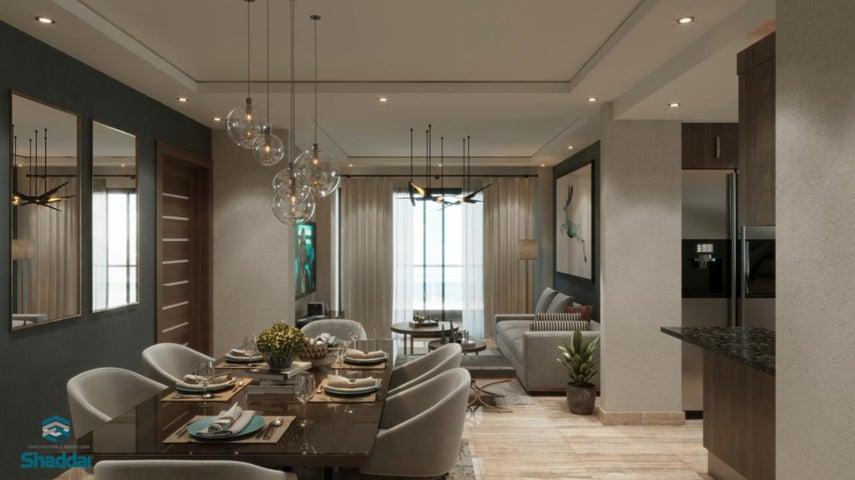 Apartamento Santo Domingo>Distrito Nacional>Mirador Norte - Venta:222.250 Dolares - codigo: 21-1615