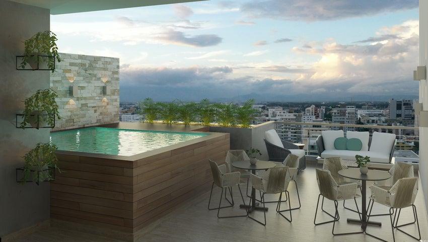 Apartamento Santo Domingo>Distrito Nacional>Mirador Norte - Venta:129.625 Dolares - codigo: 21-1617