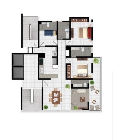Apartamento Santiago de los Caballeros>Santiago>Santiago de los Caballeros - Venta:180.575 Dolares - codigo: 21-1722